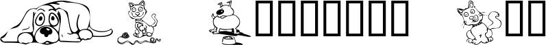 KR Backyard Scraps Font