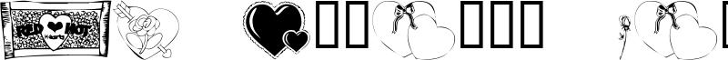 KR Belated Valentine Font