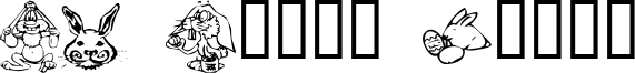 KR Bunny Dings Font