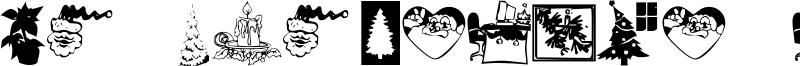 KR Christmas Time Font