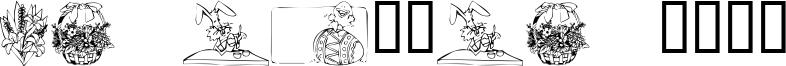 KR Easter 2002 Font
