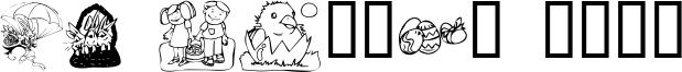 KR Easter 2003 Font