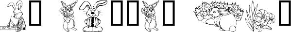 KR Easter No2 Font