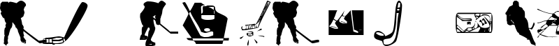 KR Hockey Dings Font
