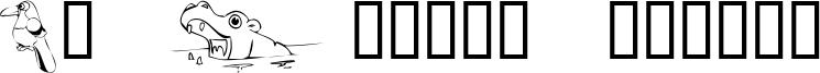 KR Jungle Scraps Font