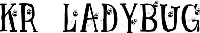 KR Ladybug Font