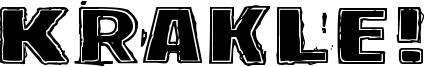 Krakle! Font