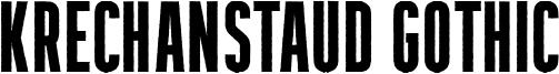 Krechanstaud Gothic Font