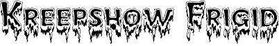 Kreepshow Frigid Font