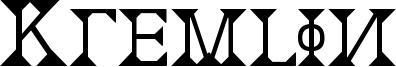 Kremlin Font