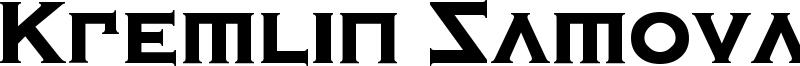 Kremlin Samovar Font