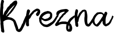Krezna Font