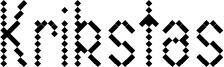 Krikstas Font