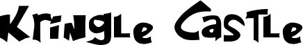 Kringle Castle Font