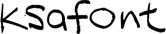 Ksafont Font