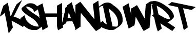 Kshandwrt Font