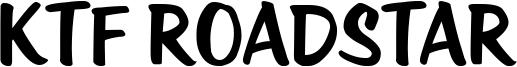 KTF Roadstar Font