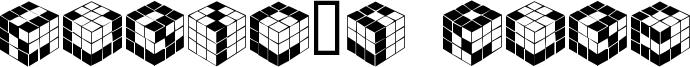 Kubic's Rube Font