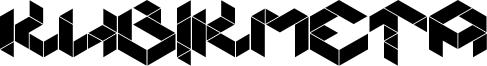 Kubikmeta Font