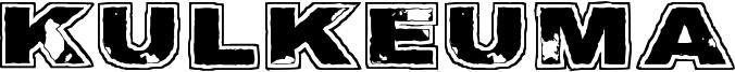 Kulkeuma Font
