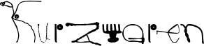 Kurzwaren Font