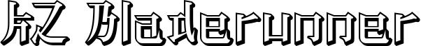 KZ Bladerunner Font