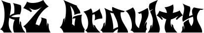 KZ Gravity Font