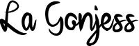 La Gonjess Font