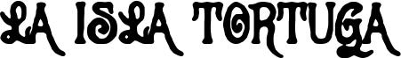 La Isla Tortuga Font