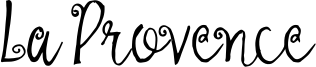 La Provence Font
