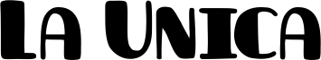 La Unica Font