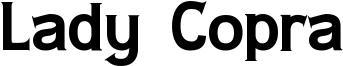 Lady Copra Font