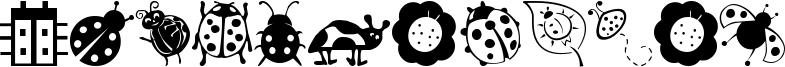 Ladybug Dings Font