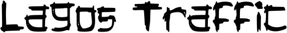 Lagos Traffic Font