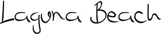 Laguna Beach Font