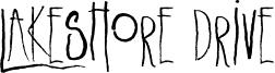 Lakeshore Drive Font