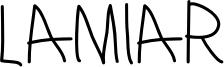 Lamiar_Regular.otf