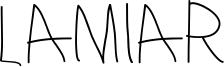 Lamiar Font