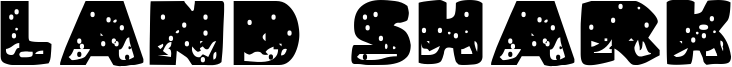 Land Shark Font