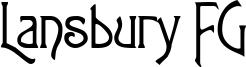 Lansbury FG Font