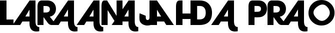 Laranjha Pro Font