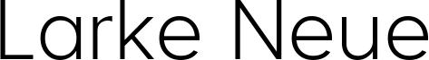 Larke Neue Font