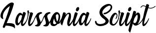 Larssonia Script Font