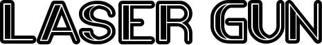 Laser Gun Font