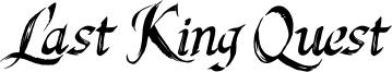 Last King Quest Font