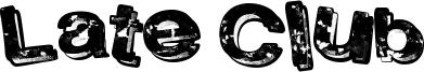 Late Club Font