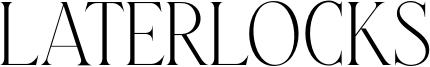 Laterlocks Font