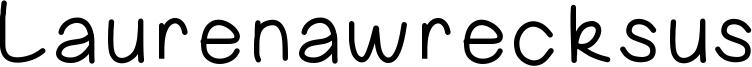 Laurenawrecksus Font
