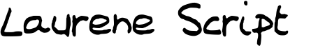 Laurene Script  Font