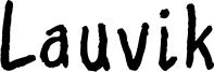 Lauvik Font
